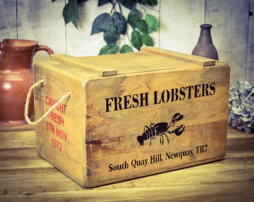 Newquay Lobster Chest